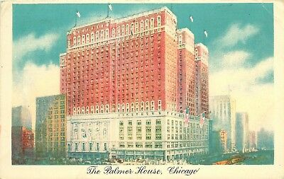 Chicago, Illinois, IL, The Palmer House Hotel, 1944 Vintage Postcard d5176