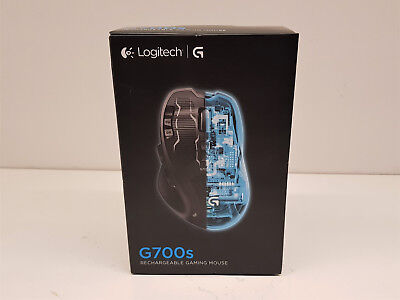 13 programable buttons! Logitech G700s wireless gaming mouseUSB G700