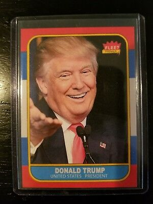 Donald Trump 1986 Fleer Style Parody ACEO Art Rookie Baseball Card 02/10