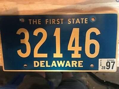 State License Plate
