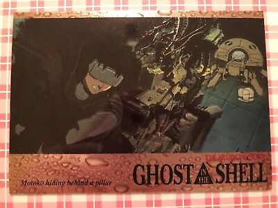 Ghost in the Shell Chromium Trading Card No. 40