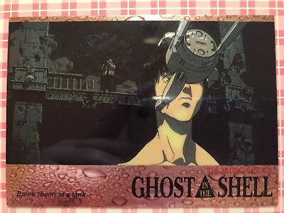 Ghost in the Shell Chromium Trading Card No. 42