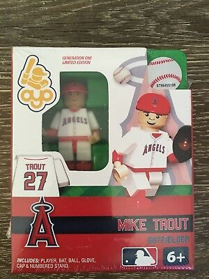 Mike Trout Angels Oyo Toy