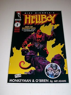 Hellboy Seed of Destruction #1 NM Mike Mignola