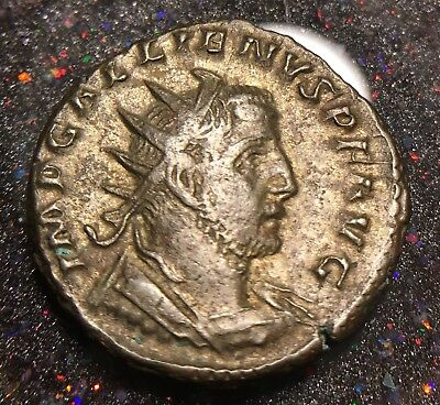 260-268 AD Roman Empire Silvered Antoninianus of Gallienus