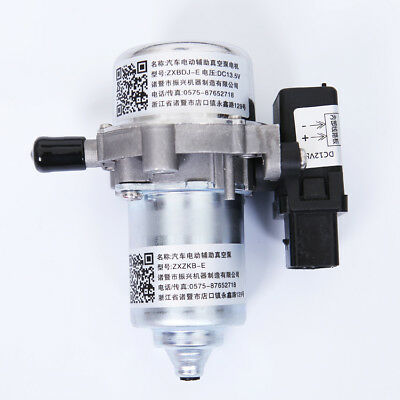 Electric Vacuum Pump Power Brake Booster Auxiliary Pump Assembly Volkswagen Audi