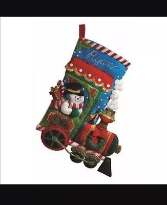 Bucilla Felt Stocking Kit - Candy Express