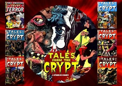 Tales From The Crypt & Other Horror Comics On DVD Rom