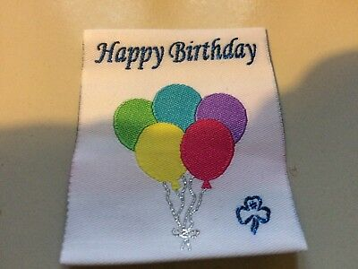 Girl Guides / Scouts Happy Birthday Balloon