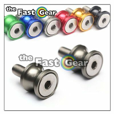 CNC Titanium Swingarm Spools Kit For Kawasaki ZX-6R 636 13-18 14 15 16 17