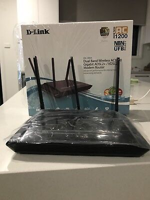 D-Link Dual Band wireless AC1200 (RRP $229)