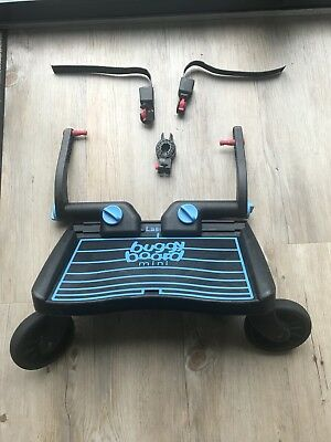 Blue / Black Lascal Buggy Board Mini (In Good used Condition)