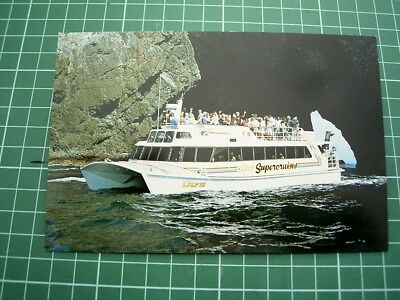1980's Postcard - Tiger Lily Cruises - Bay Of Islands - New Zealand - New