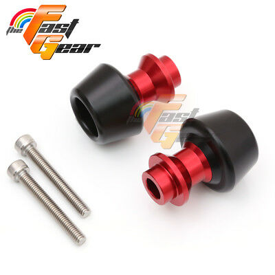 Red CNC Swingarm Spools Sliders Set Fit Kawasaki ZX9R 1998-2003