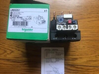 schneider LRD3357 thermal overload relay