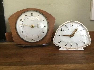 Two Vintage Metamec Clocks Spares Or Repairs
