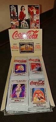 Box Of Coca Cola Trading Collector Cards- Series 3 1994-  36 Packets Of Cards