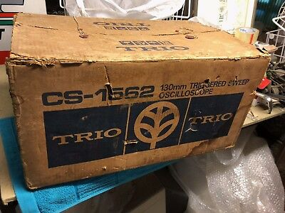 Dual Channel Oscilloscope CS-1562 Trio Kenwood 10Mhz 130mm Triggered Sweep