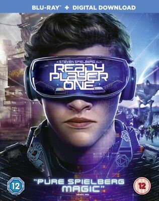 Ready Player One BLU RAY * NEW & SEALED*