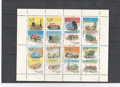 Transporttag 1973  aus State of Oman  1972