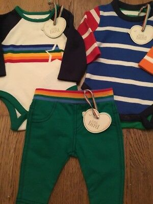 Little Bird By Jools Oliver Bodysuits & Trousers/ Leggings Bundle Fit Upto 1 Mth