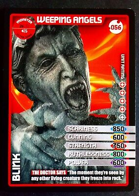 Dr Who Blink #056 Ultra Rare Textured Monster Invasion Trading Card
