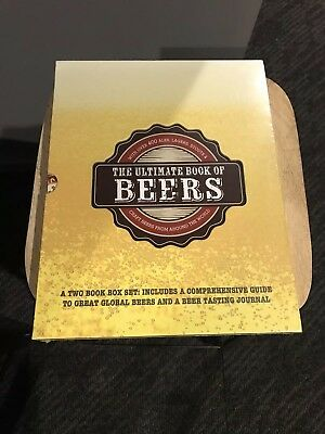 """The Ultimate Book Of Beers Box Set  """" Brand New """" Sealed Hard Cover"""