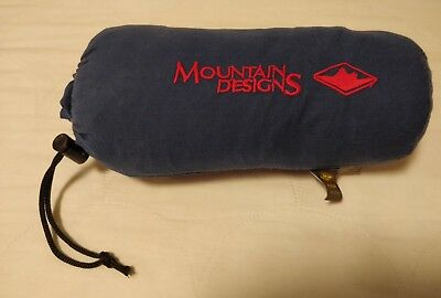 Mountain Designs Sleeping Bag Liner - Cotton Travel Sleep Sheet