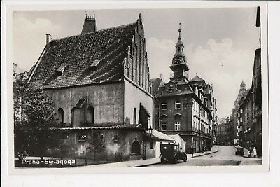 The Old Synagogue - Prague - Early Postcard - C1930's