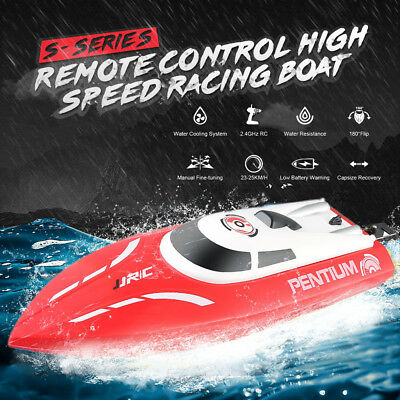 High Speed 2.4GHz 2CH 16MPH Racing  RC Boat Jet Boat Remote Control Toy A