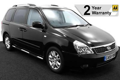 2010(59) KIA SEDONA 2.2 CRDi 3 AUTO LOW FLOOR WHEELCHAIR ACCESS ~ LEATHER