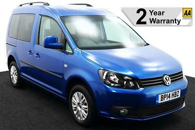 2014(14) VOLKSWAGEN CADDY BROTHERWOOD 1.6 TDi LIFE DSG AUTO WHEELCHAIR ACCESS