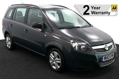 2013(13) Vauxhall Zafira 1.8 Exclusiv Wheelchair Accessible ~ Full Low Floor