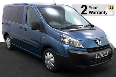 2013(13) PEUGEOT EXPERT 2.0 HDi TEPEE COMFORT LOW FLOOR WHEELCHAIR ACCESSIBLE
