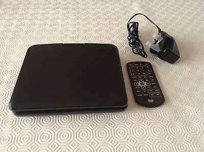 Portable DVD Player with Remote Control & Charger