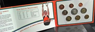 """IRLAND KMS 2003 """"SPECIAL OLYMPICS WORLD GAMES"""", OVP, incl. 5 Euro SM. PORTOFREI!"""