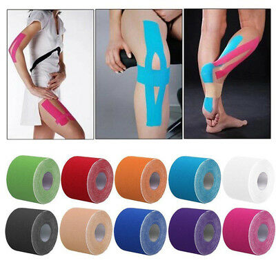 Sports Kinesiology Tape Elastic Physio Muscle Tape PRO Pain Relief Womens Mens