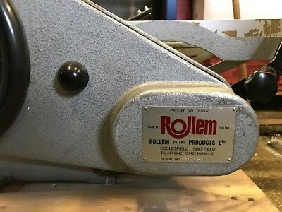 Rollem Scorer and Perforating Machine