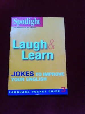 Spotlight  - Laugh&Learn. Jokes to improve your English
