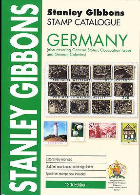 2018 Germany 12th edition - New Stanley Gibbons Catalog