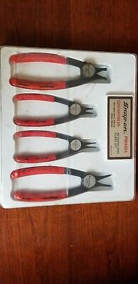 Snap on retaining ring pliers set