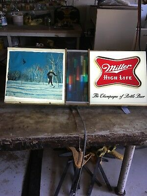 Vintage Miller High Life Lighted Beer Sign