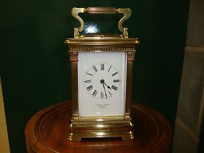 Fine late 19th centuary carriage clock in full working order