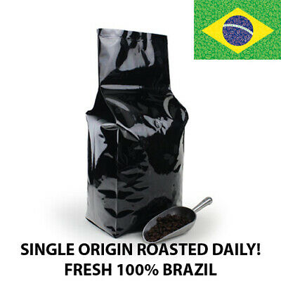 1, 2, 5, 10 lb Brazil Coffee Roasted Fresh Daily in the USA Whole Bean or Ground