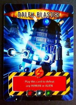 Dr Who Dalek Blaster Lenticular Battles In Time Trading Card