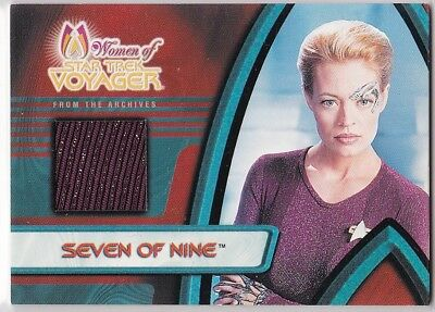 Star Trek Women Of Voyager F1 Jeri Ryan As Seven Of Nine 7 Of 9 Costume Card
