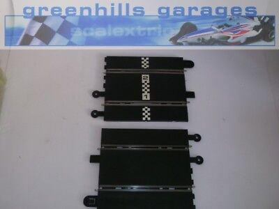 Greenhills Scalextric Converter track pair with start line - USED  -  T3072  ##x
