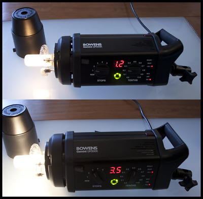 Bowens Gemini 500R pro lighting kit + case + extras (Immaculate)