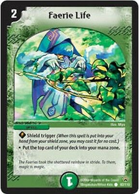 Duel Master TGC Faerie Life DM10 Shockwaves of the Shattered Rainbow