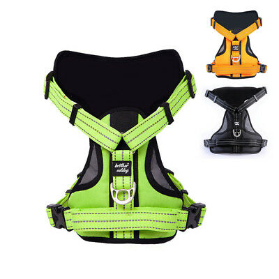 Reflective Large Dog Harness Strong Pet Training Walk Out Harness Vest Big Dog